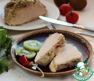 Рецепт Мясо, запеченное с киви
