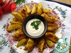 Рецепт Картофель, запеченный в горчице