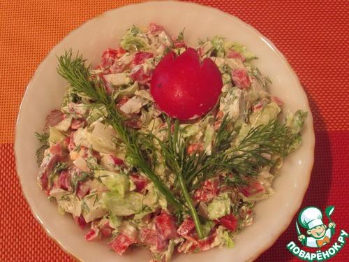 Поваренок ру рецепты салатов с фото