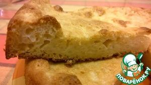 Рецепт Сладкий рисовый пирог