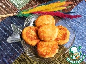 Рецепт Биточки из лосося с тыквой