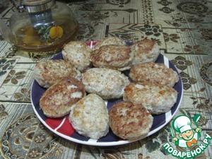 Рецепт Гречневые котлеты с мясом курицы