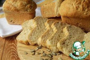 Готовим вкусный рецепт с фото Хлеб на молоке