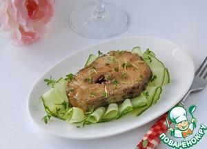 Рецепт Треска в соево-ванильном маринаде
