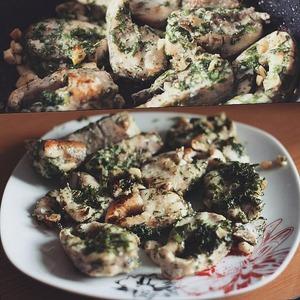 Рецепт Рыба в чесночном соусе