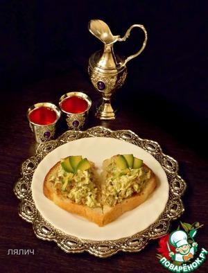 """Рецепт Салат """"Сердце для двоих"""""""