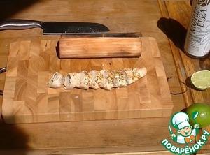 Как приготовить Куриная грудка с лаймом в гриль-бумаге простой рецепт с фотографиями пошагово
