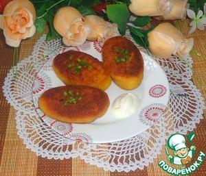 Рецепт Картофельные зразы с фасолью