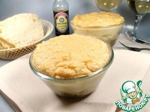 Рецепт Рыба по шапочкой картофельного суфле