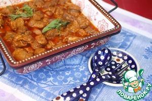 Рецепт Рагу из трех видов мяса в азиатском стиле