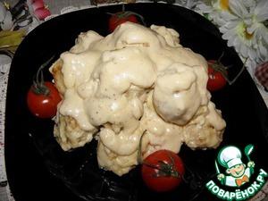 Рецепт Мини-котлетки в сырно-сливочном соусе