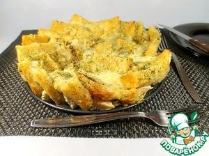 Рецепт Пирог-сэндвич с куриным филе