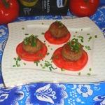 Тефтели под томатно-имбирным соусом