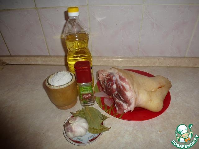 Маринад для свинины в рукаве в духовке рецепт 166
