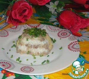 Рецепт Рыбное заливное с яйцом