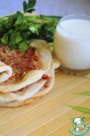 Рецепт А-ля Лахмаджун с фасолью