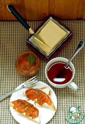 Лосось маринованный в чае с мандаринами рецепт с фотографиями пошагово