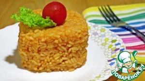 """Рецепт Гарнир """"Томатный рис с сыром"""""""