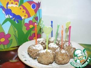 Рецепт Горохово-ржаные кейк-попсы