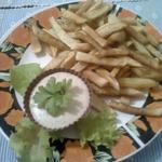 Картофель-фри с пикантным соусом''Весна''