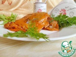 Рецепт Печень в томатном кляре