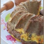 Печеночно-сырный кекс