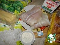 """Запеканка """"Рыбная приманка"""" ингредиенты"""