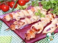Шашлык из свинины с луком ингредиенты