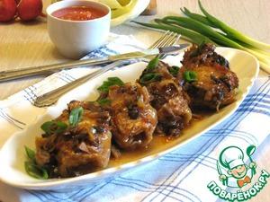 Рецепт Голубцы духовые с томатно-грибным соусом