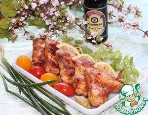 Куриные крылышки в маринаде с протертыми помидорами домашний рецепт приготовления с фотографиями готовим