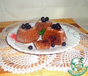Рецепт Брауни с черной смородиной
