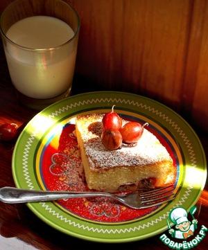 Рецепт Пудинг-кекс с крыжовником