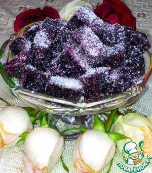рецепт приготовления желе из чёрной смородины