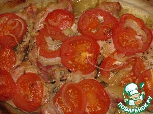 Рецепт Запеченное мясо с овощами