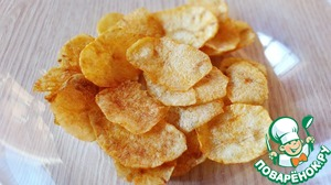 Рецепт Домашние чипсы