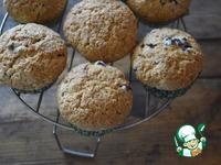 Пряные кексы с голубикой ингредиенты