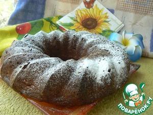Рецепт Шелковый персиковый кекс