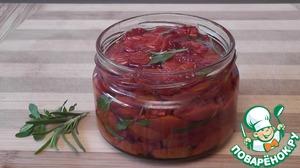 Рецепт Закуска из вяленых помидоров черри