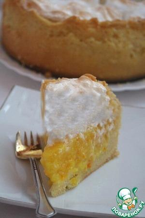 Торт с апельсинами и белковым суфле вкусный рецепт с фото готовим