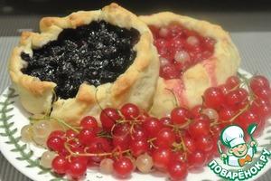 Рецепт Творожные ватрушки с ягодной начинкой