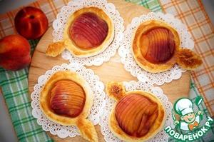 Рецепт Быстрые пирожки с персиками