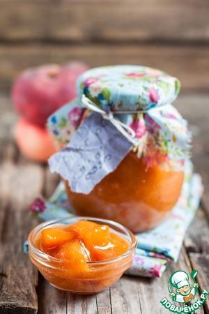 Готовим Персиковая карамель домашний рецепт с фотографиями пошагово