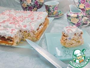 """Рецепт Заварной торт """"Необычная нежность"""""""