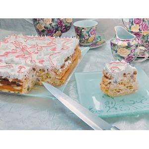 """Заварной торт """"Необычная нежность"""""""