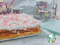 """Заварной торт """"Необычная нежность"""" ингредиенты"""