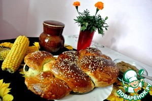 Сдобная плетенка с маком домашний рецепт приготовления с фотографиями пошагово