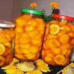 Дольки персиков в сиропе на зиму
