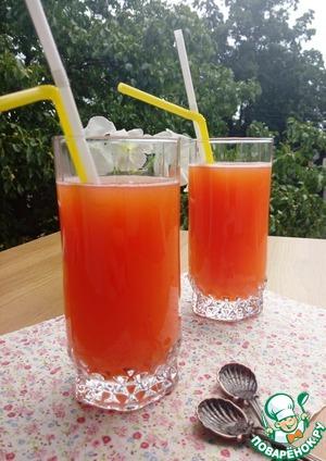 Рецепт Персиковый лимонад