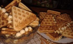 Рецепт Печенье в форме (Вафли)