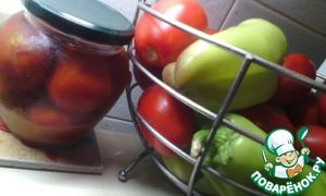 Рецепт Помидоры в яблочном соку